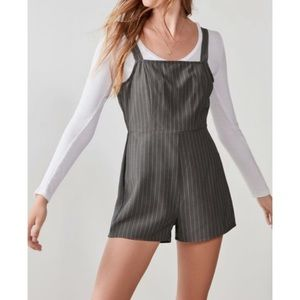 silence + noise urban outfitters gray romper